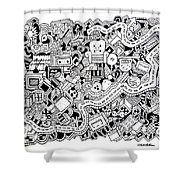 Cuddlebug Shower Curtain
