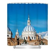 Cuenca Cathedral Domes Shower Curtain
