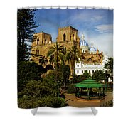 Cuenca Is A World Heritage Site Shower Curtain