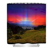 Cuenca Is Blessed II Shower Curtain