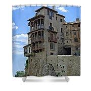 Cuenca Spain Casas Colgadas Shower Curtain