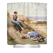 Cullercoats Shower Curtain