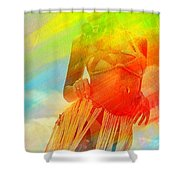 Cultural Dance Shower Curtain
