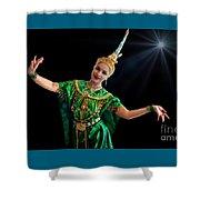 Cultural Thai Dance Shower Curtain