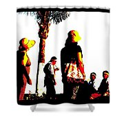 Culture-in-motion Shower Curtain