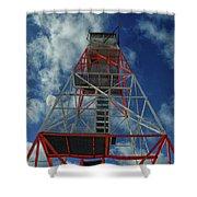 Culver Fire Tower Shower Curtain