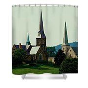 Cumberand Steeples Shower Curtain