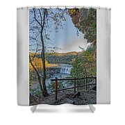 Cumberland Falls Ky From Eagle Falls Trail Shower Curtain