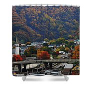 Cumberland In The Fall Shower Curtain