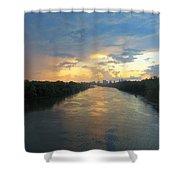 Cumberland River - Nashville  Shower Curtain