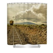 Cumbres And Toltec Water Stop Shower Curtain