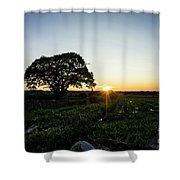 Cumbrian Roadside Shower Curtain