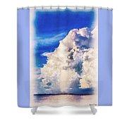 Cumulonimbu Over Tampa Bay Shower Curtain