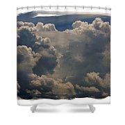 Cumulonimbus Shower Curtain