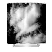 Cumulus Congestus Clouds Dog Shapes Shower Curtain