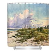 Cumulus  Shower Curtain