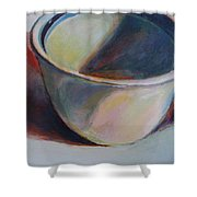 Cup And Shadow 1 Shower Curtain