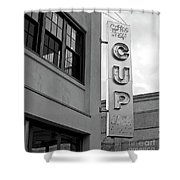 Cup Diner Shower Curtain