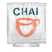 Cup Of Chai- Art By Linda Woods Shower Curtain