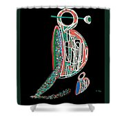 Cup Of Sparkles Shower Curtain