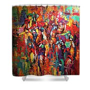 Cup Runneth Over Shower Curtain