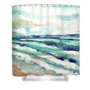 Cupecoy 2, Sint Maarten, Netherlands Shower Curtain