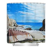 Cupecoy Dream Shower Curtain