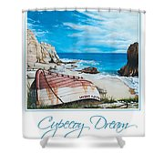 Cupecoy Dream Poster Shower Curtain