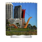 Cupid's Span At The Bay Shower Curtain