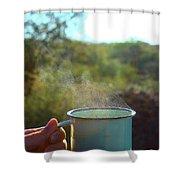 Cuppa Steam Shower Curtain
