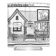 Cuppers Coffee House Shower Curtain