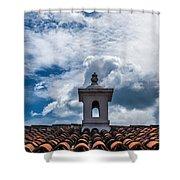 Cupula Antigua Guatemala 1 Shower Curtain