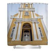 Curacao - The Office Of The Public Prosecutor Shower Curtain