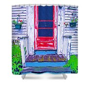 Curb Appeal Shower Curtain