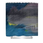Curious Alexander Shower Curtain