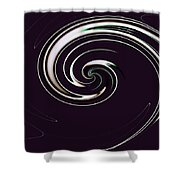 Curl Up Shower Curtain