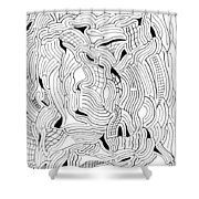 Currents Shower Curtain