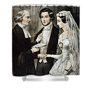 Currier: The Marriage Shower Curtain