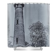 Currituck Beach Lighthouse 2 Shower Curtain