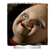 Curse Of Chucky Shower Curtain