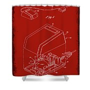 Cursor Control Device Patent Drawing 1n Shower Curtain