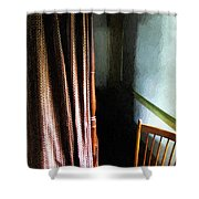Curtains Closed Shower Curtain