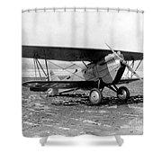 Curtiss P-1 Hawk,1925 Shower Curtain
