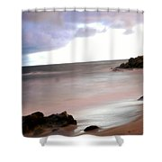 Curve Of The Horizon Shower Curtain