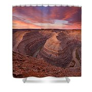 Curves Ahead Shower Curtain