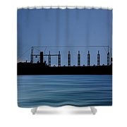 Cus John Adams 1918 V4 Shower Curtain