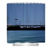 Cus John Adams 1921 V4 Shower Curtain