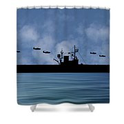 Cus Woodrow Wilson 1944 V1 Shower Curtain