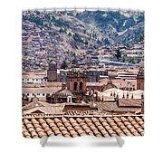 Cusco Cityscape Shower Curtain