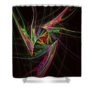 Custodian Of Desires Shower Curtain